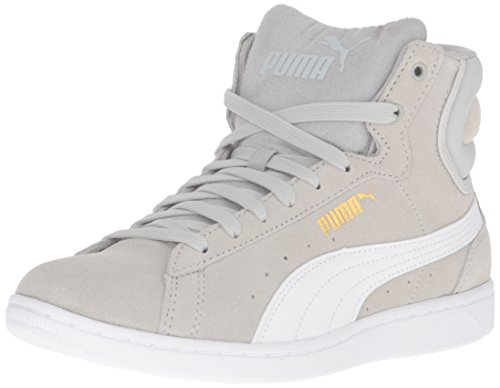 puma Gray Violet White Fashion Puma Sfoam Mid Sneaker Women's Vikky 7wHFOq8xTv