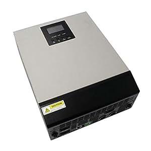 BeMatik - Inversor de onda pura Axpert MKS para fotovoltaica de 1KVA 48V 1000W con MPPT