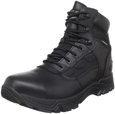 """Thorogood Men 6"""" Black Waterproof Side Zip Tactical Police Work Boot- 4 M"""