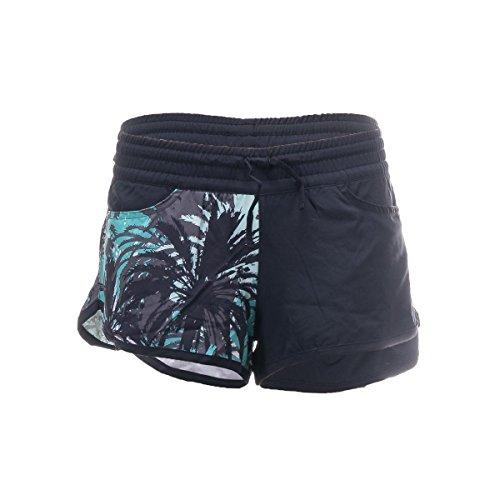 Zoot SPORTS Women's Run 101 2-Inch Short, X-Small, Lagoon Camo Palm ()
