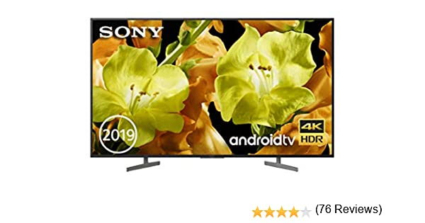 Sony KD-55XG8196BAEP - Televisor 4K HDR de 55
