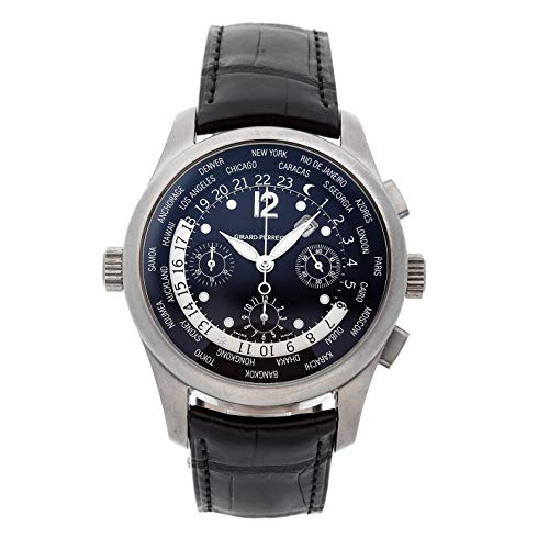 Girard-Perregaux WW.TC Mechanical (Automatic) Black Dial Mens Watch 49805 (Certified Pre-Owned)