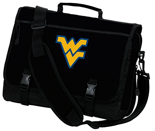 Broad Bay West Virginia University Laptop Bag WVU Computer Bag or Messenger Bag by Broad Bay