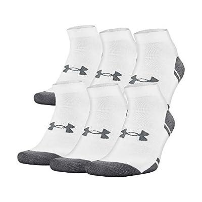 Under Armour Adult Resistor 3.0 Lo Cut Socks, 6 Pairs