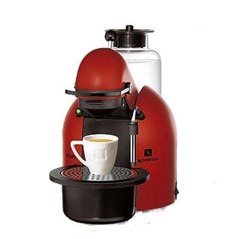 Krups Nespresso Concept - Cafetera monodosis, color rojo ...
