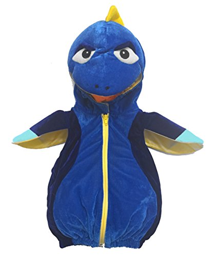 Easy Fish Costumes (Dream Play Imagine Plush Blue Fish Deluxe Costume (3-6 months, Blue Fish))