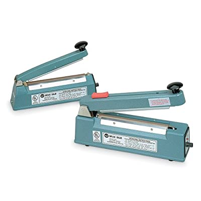 "MSD AIE-300C Impulse Heat Sealer, 12"" Seal Length with Cutter"