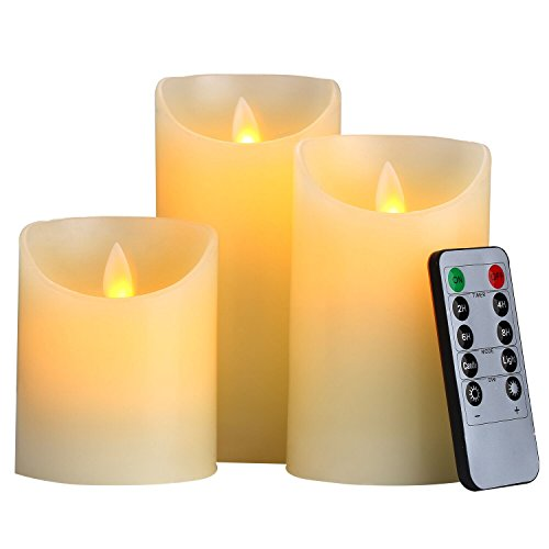 Battery Operated Candle Set - 3