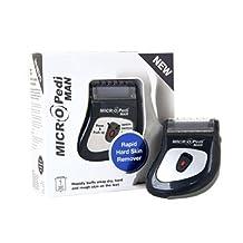 Pedi4Man Pedi For Man Pediman Fujicom By Emjoi Micro Electric Home Pedicure Callus Remover by Fujicom