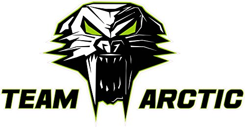 Nostalgia Decals Team Arctic Cat Version 3 which is a 6 inch Decal from The United States ()