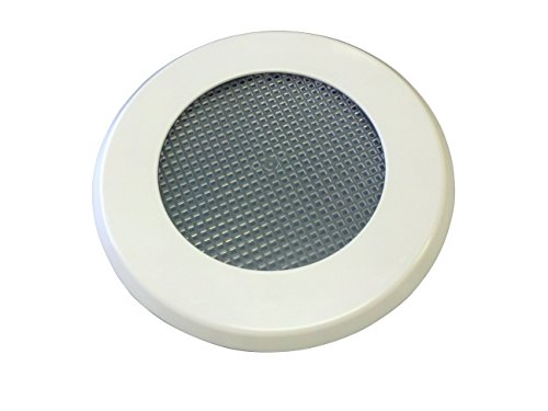No Pest Recessed Light Cover Replacement Kit for Outdoor Ceiling Canned Lighting Fixtures - Includes Mounting Ring, Trim Plate and Screen- Keep Out Insects- Paintable - Made in the USA (Ceiling Can Light Cover compare prices)