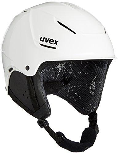 UVEX Kinder Skihelm p1us junior, White, 55-59 cm, S5661801005