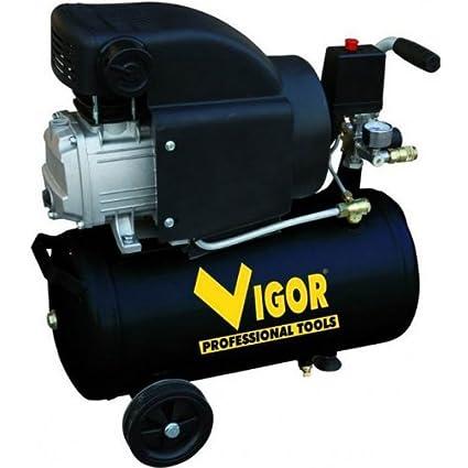 Vigor Vca-24L - Compresores, 220 V, 1 Cilindro, De Accionamiento Directo