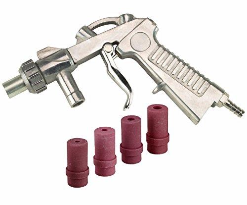 Dragway Tools Blast Media Gun & Nozzles Kit for Model 25, 60 and 90 Sandblast Cabinets by Dragway Tools