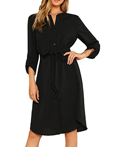 See the TOP 10 Best<br>Belted Shirt Dress