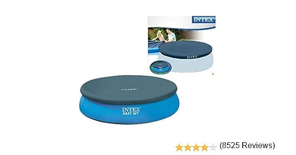 Intex 28020 - Cobertor piscina hinchable Easy Set 244 cm: Amazon ...