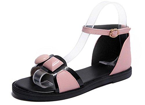 Toocool Mujer sandalias romanas rosa Size: 36 lKcuf4K