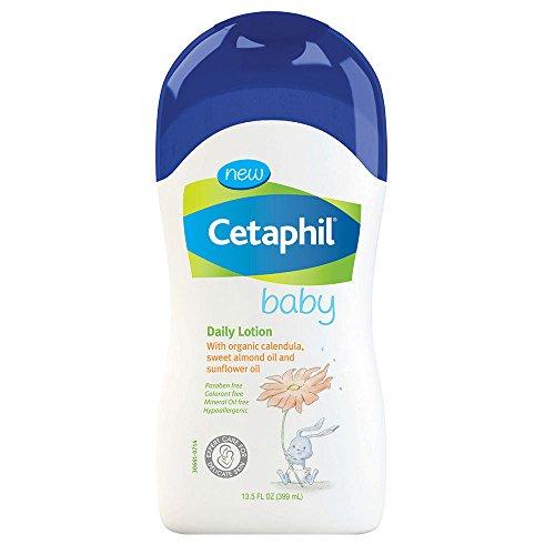 Bébé Cetaphil Lotion quotidienne avec Calendula bio, huile d'amande douce et huile de tournesol, 13,5 onces