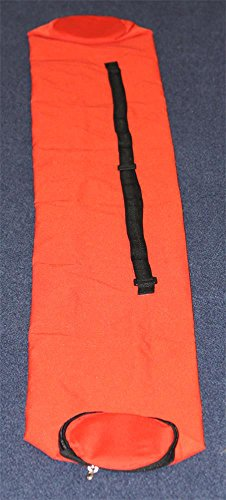 Agility Hundesport - Tasche für Stangen bzw. Slalomstangen bis 1,75 m Länge, Farbe: rot