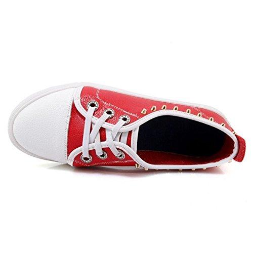 Red Femmes Chaussures Plates Espadrilles Coolcept Escarpins Femmes Coolcept Cp0xqpwZ7