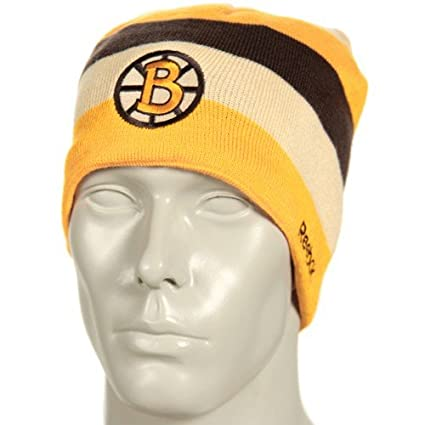 db0bf4c6e Reebok Boston Bruins 2010 Winter Classic Official Center Ice Reversible Player  Knit Hat - Boston Bruins