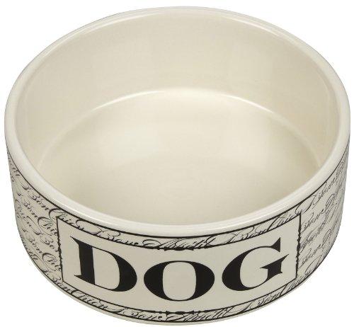 Harry Barker Bon Chien Dog Bowl - Black - 30 oz
