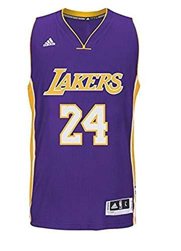 new product e9a1c b4272 adidas Los Angeles Lakers Kobe Bryant #8 Hardwood Classics Soul Swingman  Jersey - Purple (Purple, Medium)