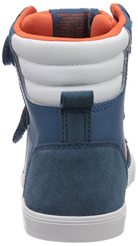Hummel HUMMEL SL STADIL JR LEATHER HI - zapatillas deportivas altas de cuero niños azul - azul (Mallard azul 7175)