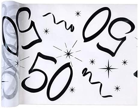 Chal - Camino de Mesa 50 cumpleaños: Amazon.es: Hogar