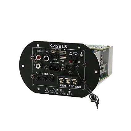 Estéreo eDealMax coche subwoofer decodificador tablero del amplificador del altavoz placa Madre