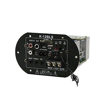 Amazon.com: Estéreo eDealMax coche subwoofer decodificador tablero del amplificador del altavoz placa Madre: Car Electronics