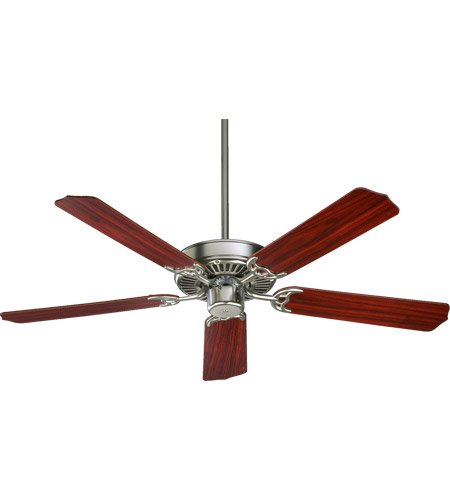 Quorum 77525-6522, Capri Satin Nickel Energy Star 52'' Ceiling Fan by Quorum