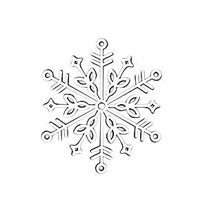 Gmgqsago Troquel cortes forma copo de nieve metal troqueles DIY ...
