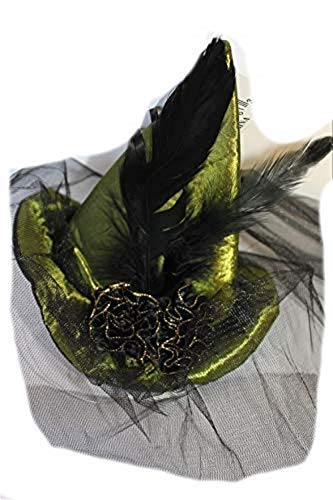 Mini Halloween Witch Hat with Veil 6