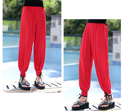 il Yoga 17 Sportivi Donna Stampa Libero Tempo Jogging Pantaloni Larghi Baggy Harem HpxwqO8q