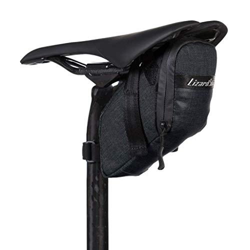 Lizard Skins Super Cache Saddle Bag Jet Black, One Size