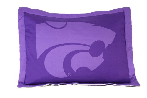 (College Covers NCAA Kansas State Wildcats Licensed Throw Pillow or Decorative Pillow, 20