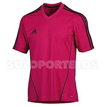 adidas Camiseta Estro Fucsia-Negra Talla 160 - XS: Amazon.es: Deportes y aire libre