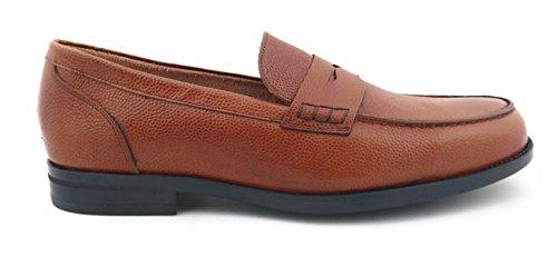 Zerimar Herren Lederschuh Schuh mit Flexibler Gummisohle Leder Casual Schuh  Täglicher Gebrauch Schöne Leder Sportlich Schuh ... fc9165fb75