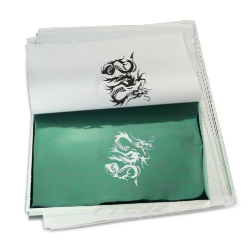 RHX 10 Sheets Tattoo Transfer Carbon Paper Supply Tracing Stencil A4 Copy Body Art from RHX