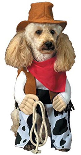 [Pet Cowboy Dog Halloween Costume (Size: X-Small)] (Dog Cowboy Costume)