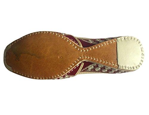 Step n Style Mens Khussa Shoes Punjabi Jutti Rajasthani Mojari kolhapuri Jaipuri Shoes HXFvps