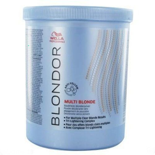 WELLA Blondor Lightening Powder Hair Bleach 28.2oz 800gr - Wella Blondor Lightening