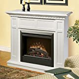 Dimplex Caprice Free Standing Electric Fireplace in White Review