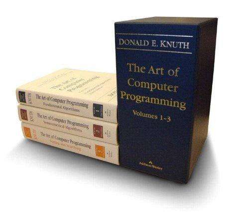 The Art of Computer Programming, Vols. 1-3