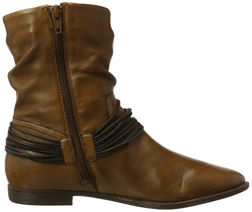 SPM Damen Freddy Ankle Boot Stiefel Braun (Dk Cuoio 010)