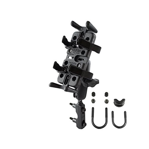 RAM Mounts (RAM-B-174-UN4) Combination Brake/Clutch Reservoir U-Bolt Mount with Universal Finger-Grip Holder