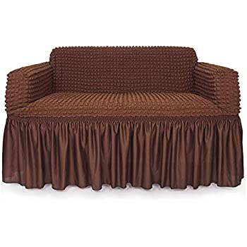 Amazon Com Sure Fit Scroll One Piece Loveseat Slipcover