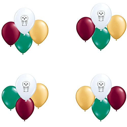 White Owl, Harry Potter Coordinating Colors Latex Balloons 16 count