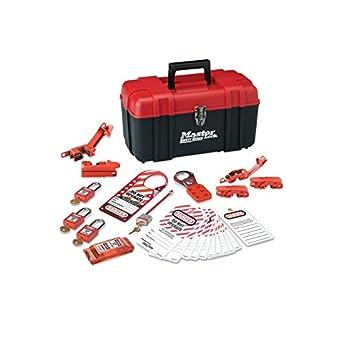 Master Lock Lockout Tagout Kit Electrical Lockout Kit With